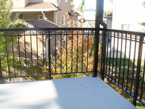 Corner of Deck