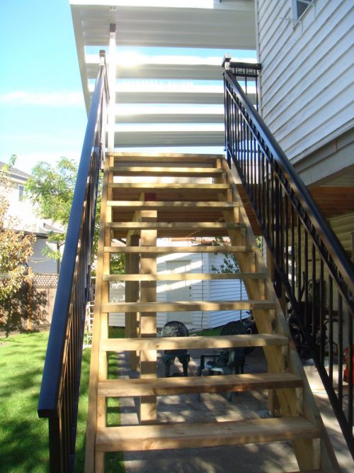 New Stairs & Railing