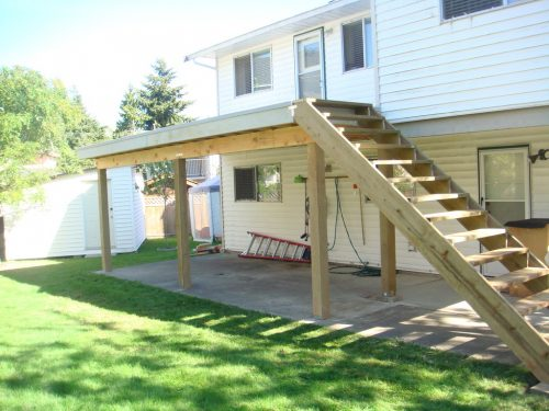 New Deck & Stairs
