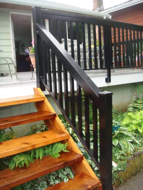 North Vancouver New Deck Stairs Amp Railings Deck Pros