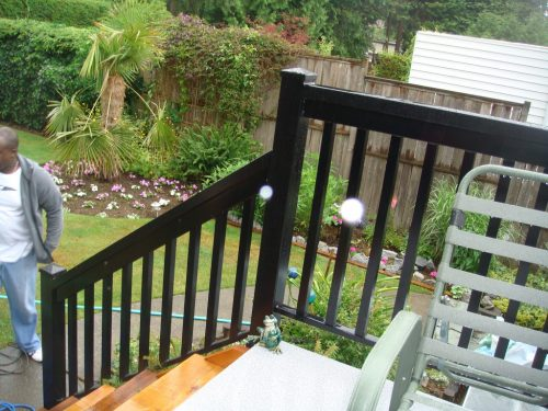 Aluminum Wide Picket Railing