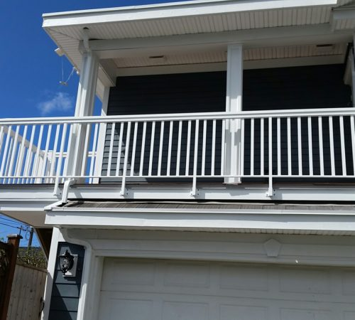 Railing Style #3 - Baby T-Top White