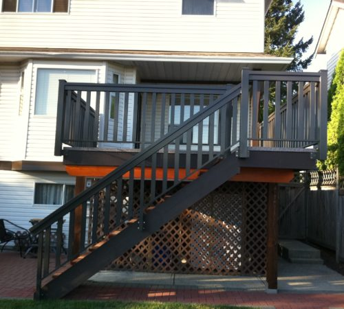Railing Style #4 - Large T-Top