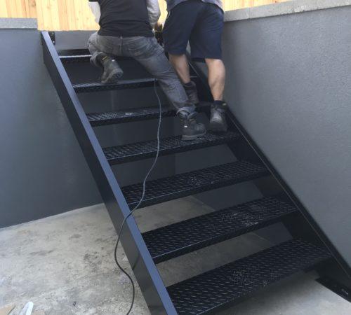 Stair Style #1 - Full Aluminum
