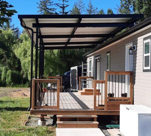 Aluminum Deck Canopy Cover